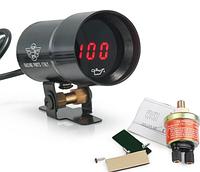 Тахометр Epman 37 мм  EP-DGT8104BK