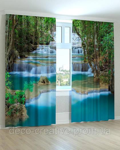 Фотошторы каскад водопадов