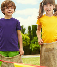 Детские футболки fruit of the loom