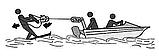 Нержавеющий отцепной карабин для водных лыж, А4 (AISI 316), фото 7