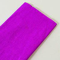 Креп-бумага плотность 24 г/м2 (0,5м*2 м). Цвет неоново-малиновый.