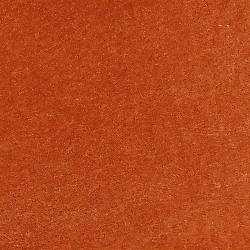 Фетр 1мм 30х42см морковный