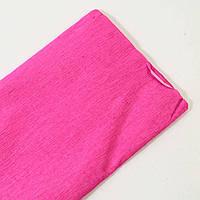 Креп-бумага плотность 24 г/м2 (0,5м*2 м). Цвет неоново-розовый.