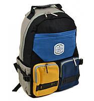 Стильный рюкзак с ярким карманом, фото 1