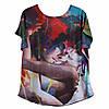 Нанесение изображений на футболки, печать на ткани любой сложности.