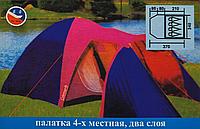 Палатка туристическая COLEMAN 1036 4-х местная (Польша)