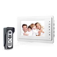Цветной видеодомофон 7 с панелью вызова