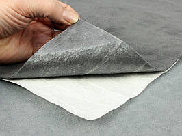 Антискрип М1 Графит  (25х100см), толщина 1.0 мм, прокладочный материал Маделин