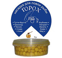 Насадка горох крашеный KING FISH 150мл мёд
