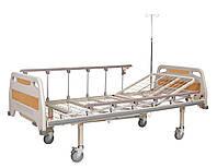 Медицинская кровать деревянная функциональная двухсекционнаяия