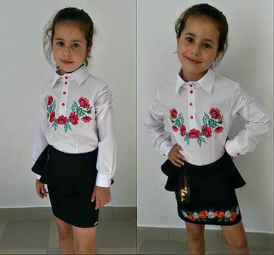 Детская рубашка №8-612(616)