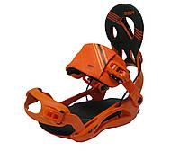 Крепления для сноуборда SP Rage FT 540 (5 цветов) M, оранжевый