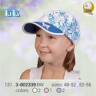 Стильная бейсболка для девочки из новой коллекции TuTu арт. 3-002339