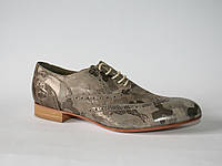 Женские туфли оксфорды Gino Moretti оригинал натуральная кожа 36