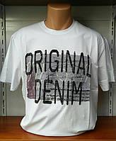 Мужская футболка большие размеры Denim
