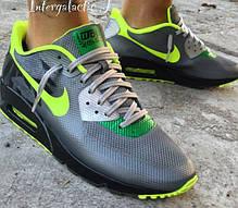 Мужские кроссовки Nike Air Max 90 Hyperfuse Yellow/Black, Найк Аир Макс 90, фото 2