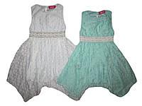 Платье нарядное  для девочек, размеры 4/5(116р.),6/7(122),7/8(128) 10/11(134р.) лет, S&D. арт. CY-1106