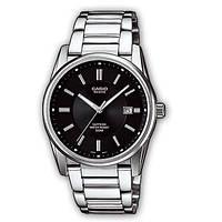 Мужские часы Casio bem-111d-1avdf + ПОДАРОК: Наушники для Apple iPhone 5 -- БЕЛЫЕ MDR IP