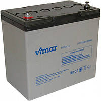 Аккумулятор гелевый 12В 55Ач BG55-12 Vimar, фото 1