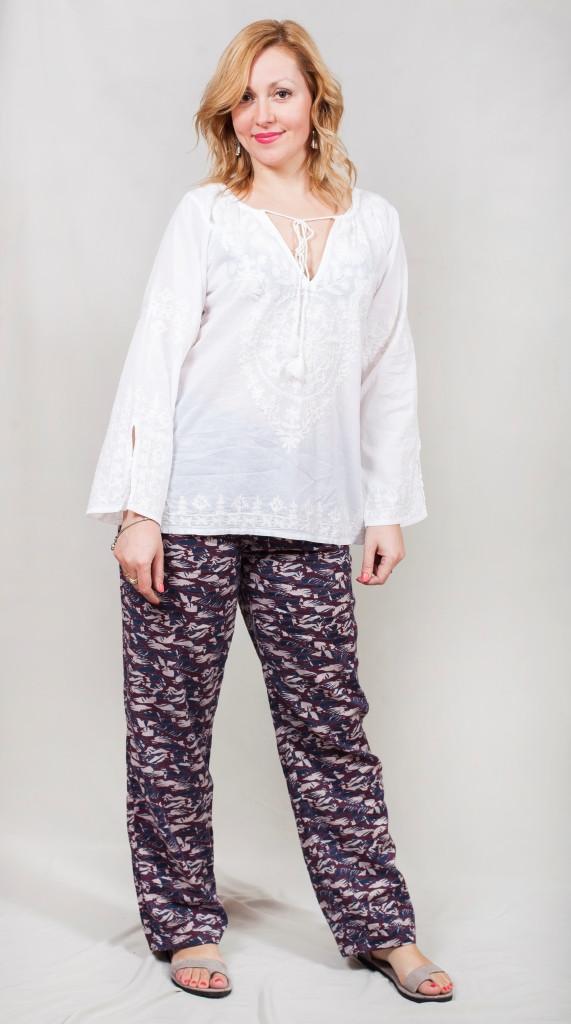 Легкие женские штаны на лето