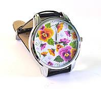 """Часы с японским механизмом """"Цветы"""""""