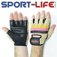 Перчатки тренировочные Stein Air с сеткой без пальцев