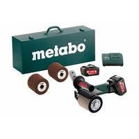Metabo S 18 LTX 115 INOX -Ак. Щеточная шлифовальная машина + чемодан