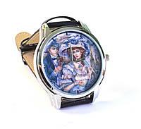 """Часы с японским механизмом """"Винтаж"""""""