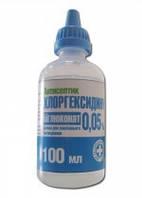 Хлоргексидину біглюконат 0,05% 100 мл