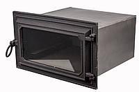 Чугунная печная духовка - VVK 51х30х40см/44х24х40см