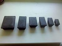 Заглушки прямоугольные внутренние  80х140