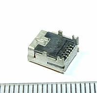 № i007_2 Mini USB Разъем, гнездо питания для планшетов, фотоаппаратов, GPS, Mp3