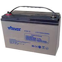 Аккумулятор 12В 100Ач B100-12 Luxeon Vimar