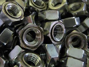 Гайки шестигранные DIN 929 приварные
