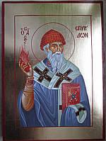 Икона Спиридон Тримифунтский писаная