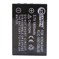 Аккумулятор к фото/видео EXTRADIGITAL Kodak KLIC-5001, DB-L50 (DV00DV1151)