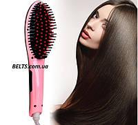 Массажная щетка для волос – выпрямитель Fast Hair Straightener (расческа Фаст Хе Стрейтнер), фото 1