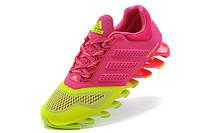 Кроссовки женские Adidas Springblade 2 pink-green