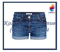 Джинсовые шорты с вашим логотипом (под заказ от 30-50 шт)