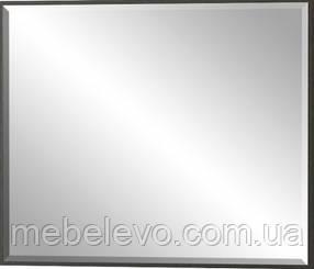 Зеркало Фантазия  790х630х30мм венге темный + дуб самоа   Мебель-Сервис