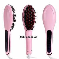 Расческа-выпрямитель Fast Hair Straightener HQT-906 (прямые волосы за считаные минуты)