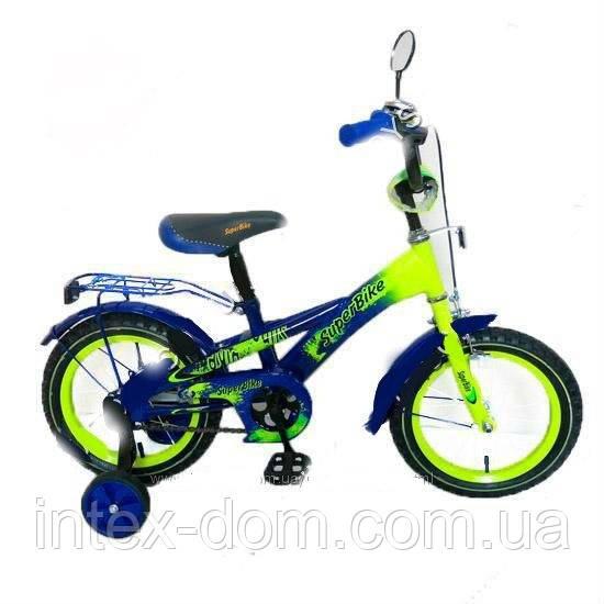Детский Велосипед «Super Bike» 2-х колесный 16 дюймовые колеса 141606