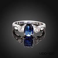 Кольцо Надежда покрытие 925 серебро циркон