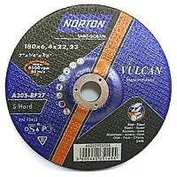 Зачистной круг Norton Vulcan 180х6.4х22.2