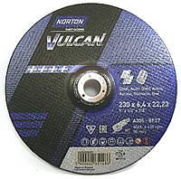 Зачистной круг Norton Vulcan 230х6.4х22.2