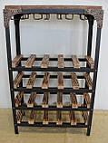 Стол-стелаж для вина Loft Style , фото 8
