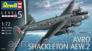Самолет 'Avro Shackleton AEW.2'   1\72   Revell 04920