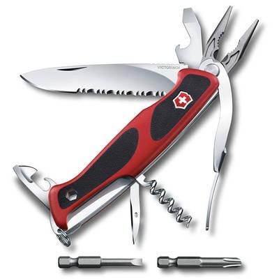 "0.9728.WC Ніж Victorinox Delemont, ""RangerGrip 174 Handyman"", 130 мм"