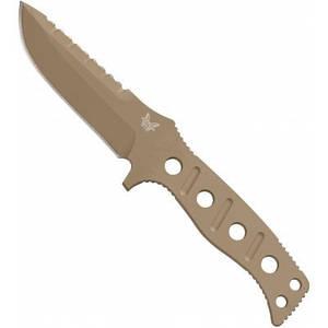 """375SN Нож Benchmade""""Sibert"""" fixed, paracord#"""