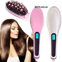 Расческа для выправления волос HQT-906 Fast Hair Straightener (плойка, утюжок)